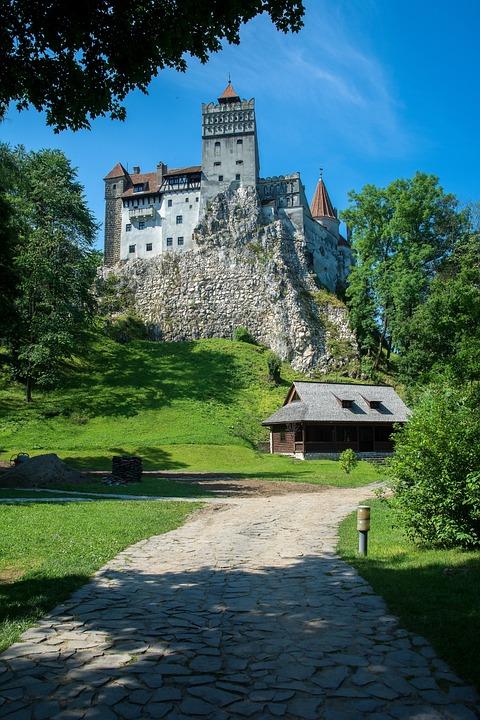 Bran Castle, Dracula, Romania, Bran, Castle, Castles