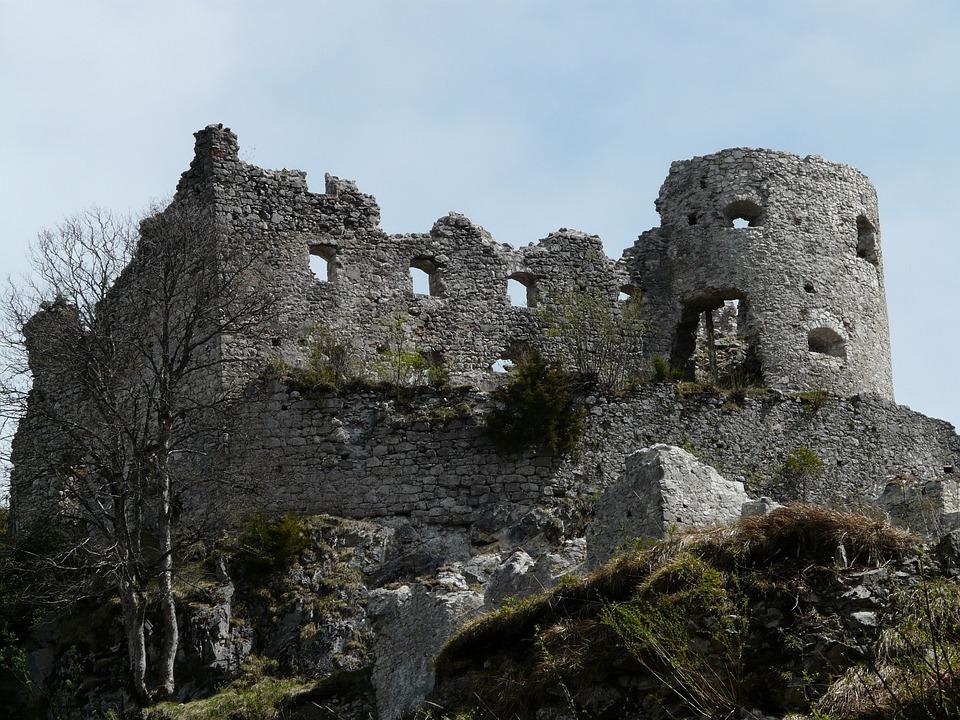 Ruin, Castle, Ehrenberg, Stone, Building
