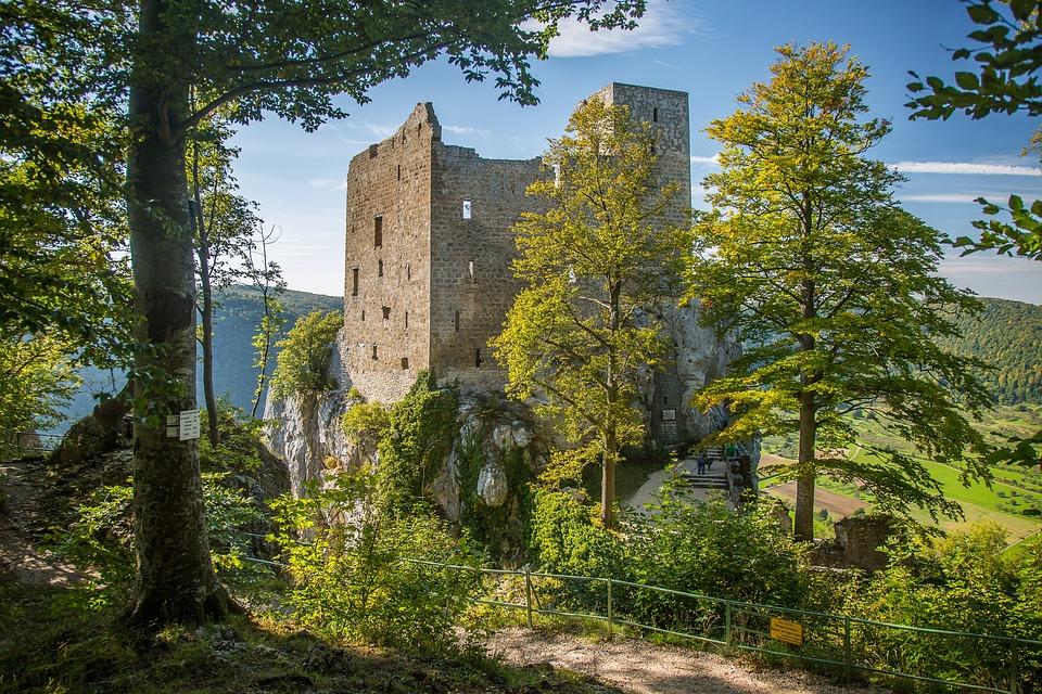 Reußenstein, Castle Russias Stone, Swabian Alb, Ruin
