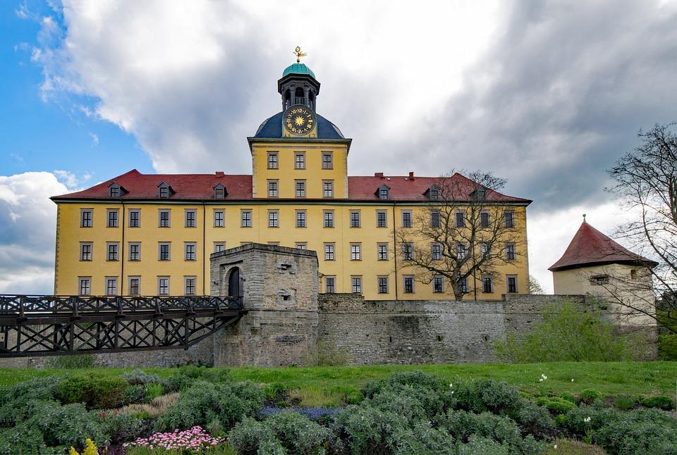 Moritz Castle, Zeitz, Saxony-anhalt, Germany, Castle