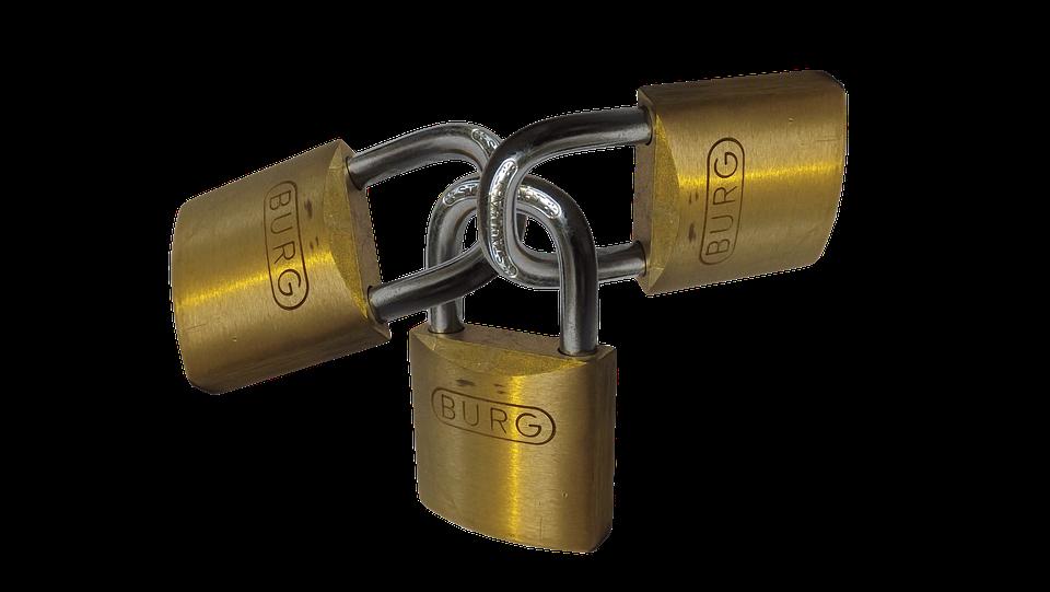 Padlock, Security, Castle, Software, Pc, Virus