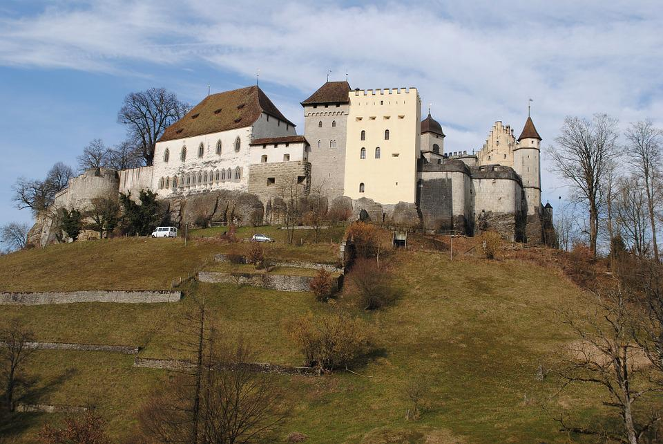 Lenzburg, Castle, Aargau, Switzerland