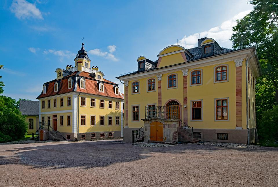 Castle, Belvedere, Weimar, Thuringia Germany, Germany