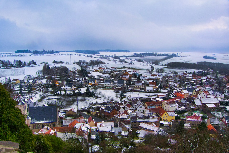 Ranis, Thuringia Germany, Castle, Germany, Historically