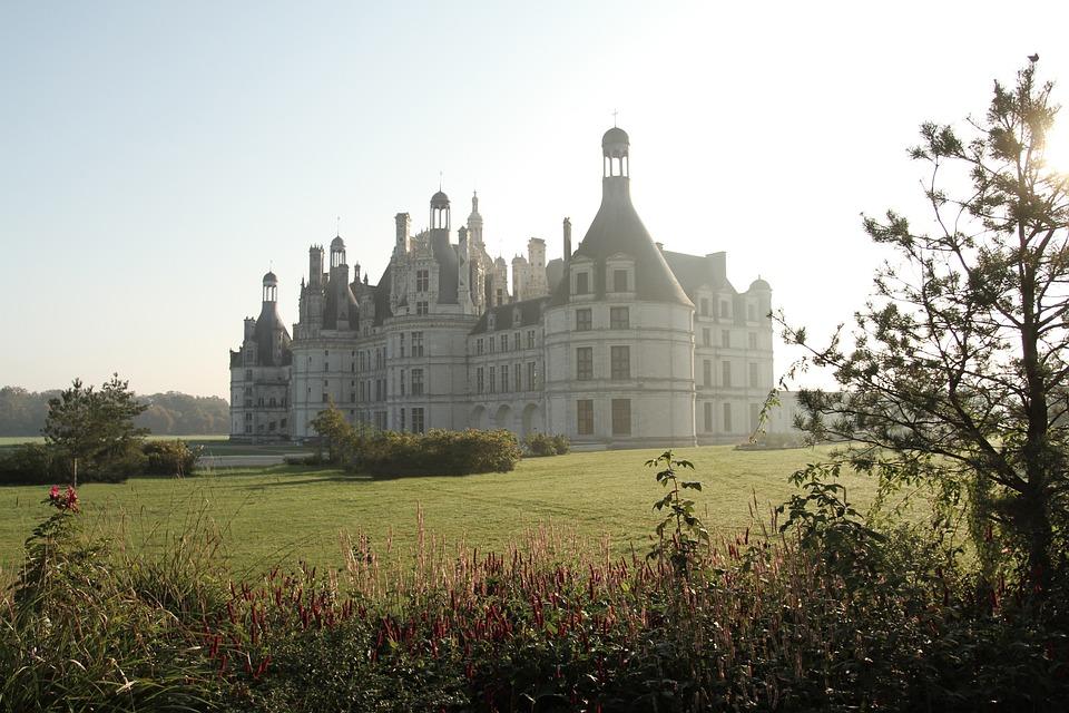 Castel, Castle, Chambord, Tours, France, Building