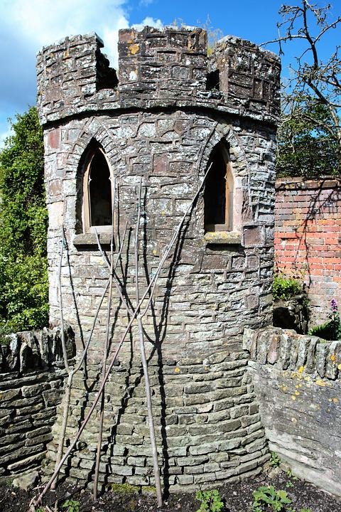 Garden Turret, Castle Tower, Tower, Architecture