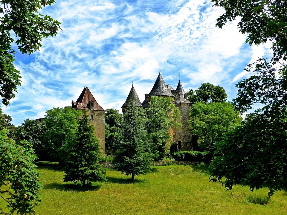 Castle, Turrets, Medieval, Palace, Heritage, Fortress