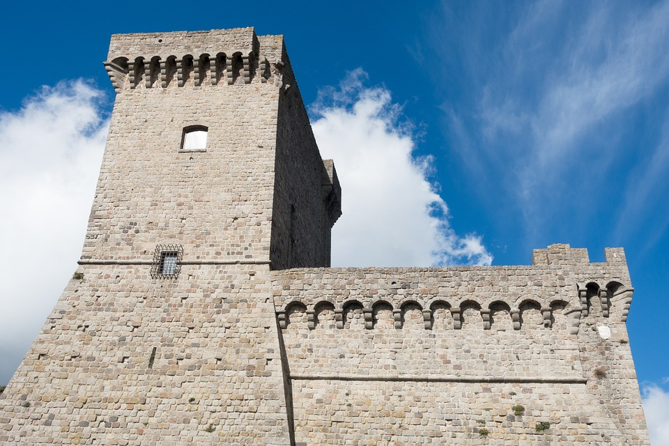 Castle, Parapet, Defense, Protection, Wall