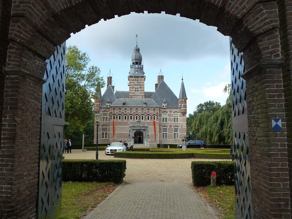 Wijchen, Netherlands, Scenic, Castle, Palace