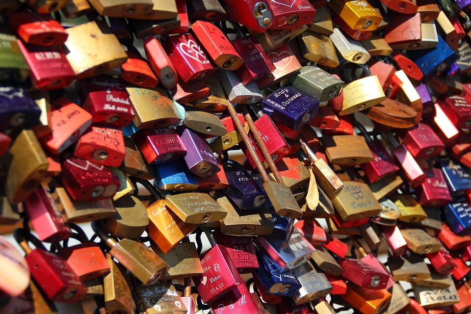 Padlocks, Completed, Castles, Love, Connectedness