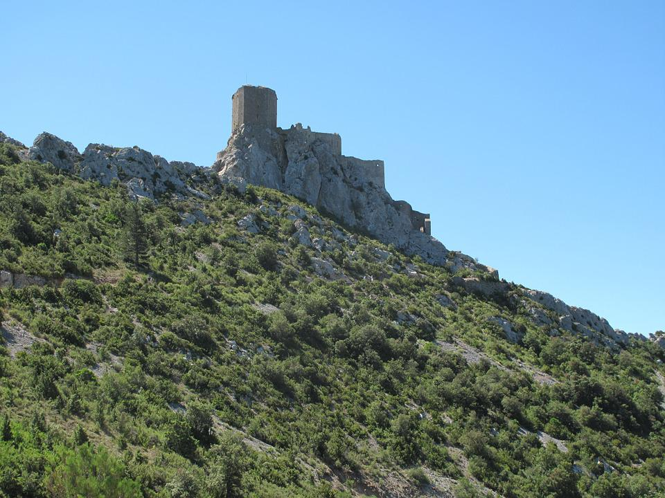 Castle, Catalans, France, Pyrenees