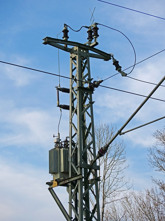 Railway, High Voltage, Catenary, Contact Wire