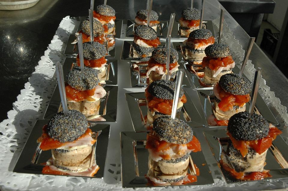 Burger, Catering, Buffet