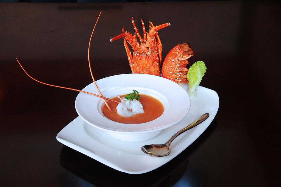 Lobster Soup, Western, Catering, Hotel