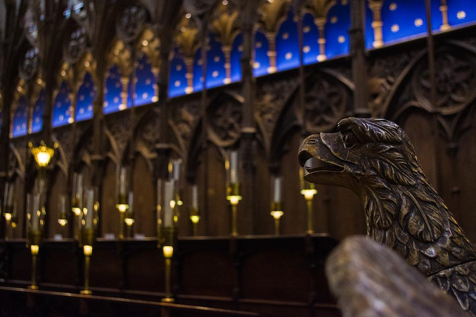 Cathedral, Choir Stalls, Lectern, Adler, Starry Sky