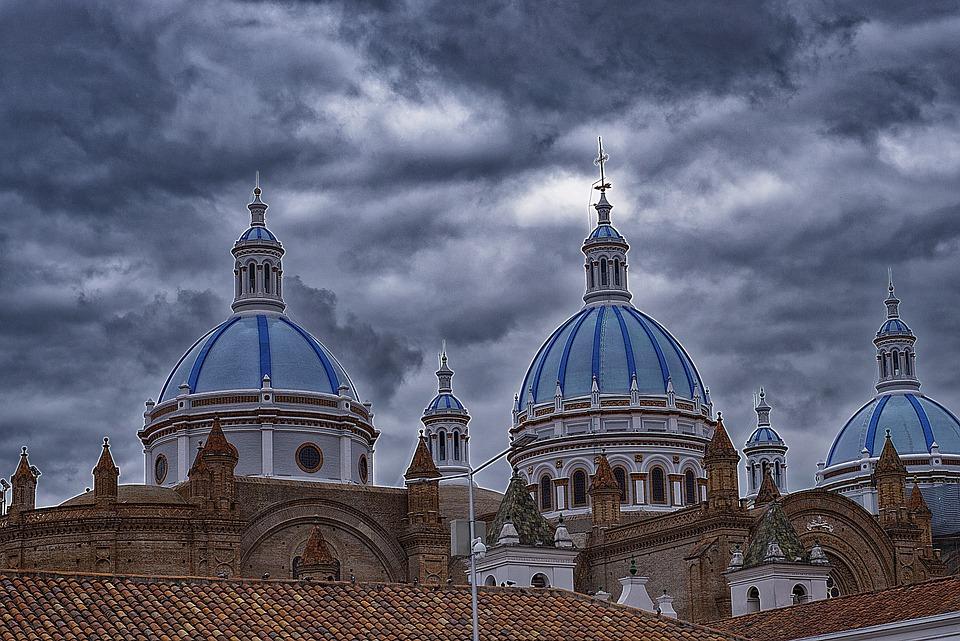 Cathedral, Dome, Church, Religion, City, Architecture