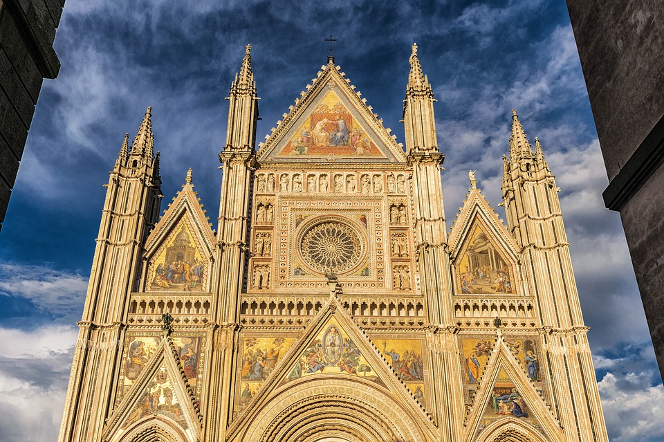 Italy, Cathedral, Dom, Architecture, Sky, Building