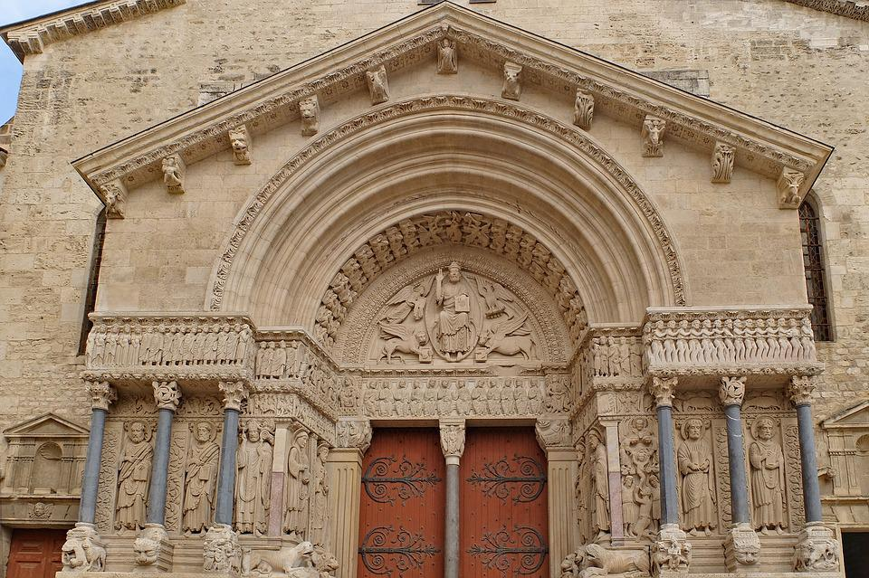 Cathedral, Church, Romanesque Church, Architecture