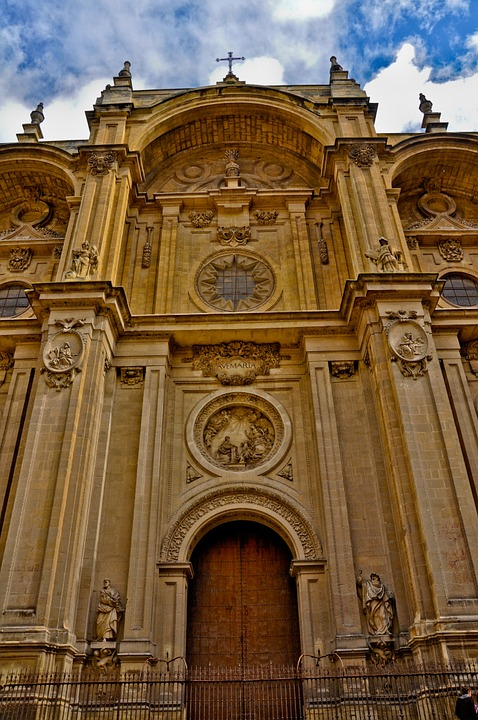 Granada, Cathedral, Church, Catholics, Religion
