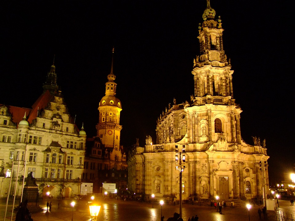 Dresden, Historic Center, Church, Cathedral