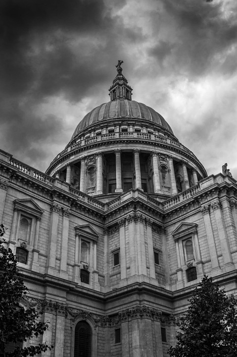 St Paul's, Church, Cathedral, Religion, London, England
