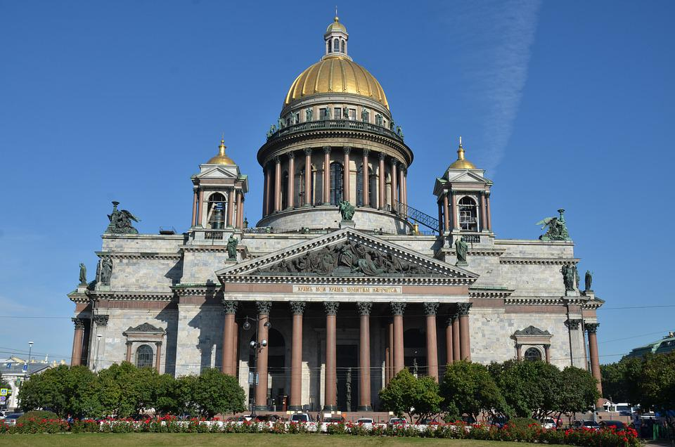 Cathedral, Facade, Saint Isaac's Cathedral