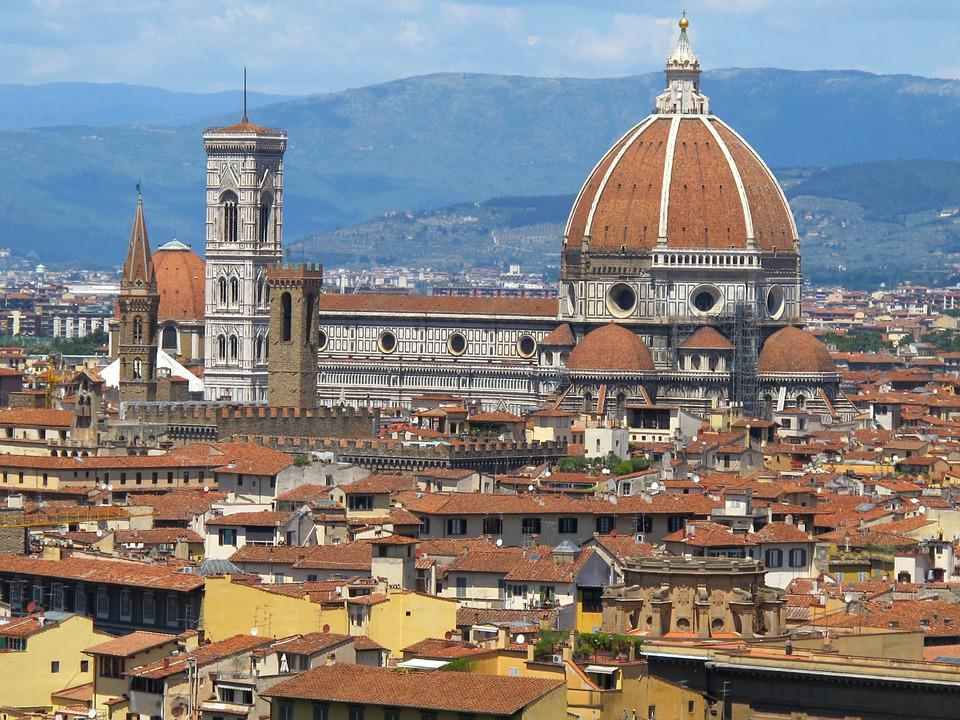 Florence, Cathedral, Sun