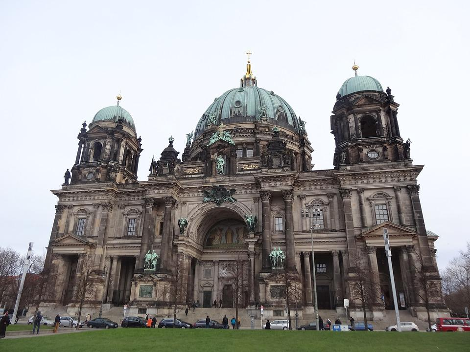 Berlin, Cathedral, Dome, Germany, Landmark