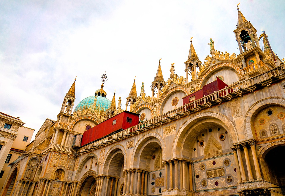 Venice, Cathedral, Italy, City, Historic, Historical