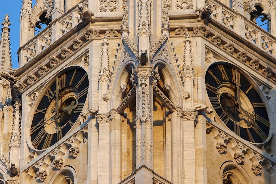 Cathedral, Clocks, Architecture, History, Zagreb