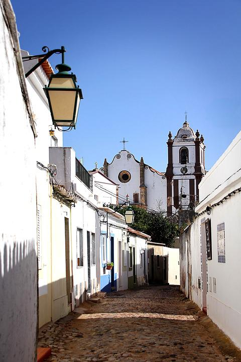 Portugal, Algarve, Silves, Cathedral, City, Road, Home