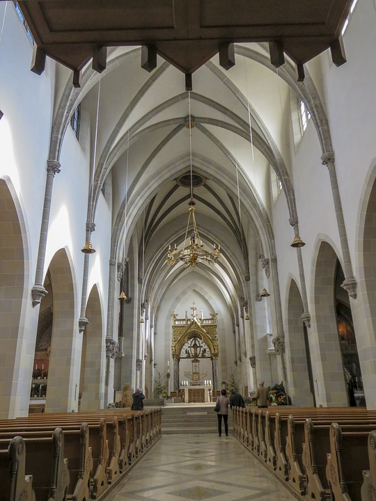Church, Architecture, Cathedral, Religion, Indoors