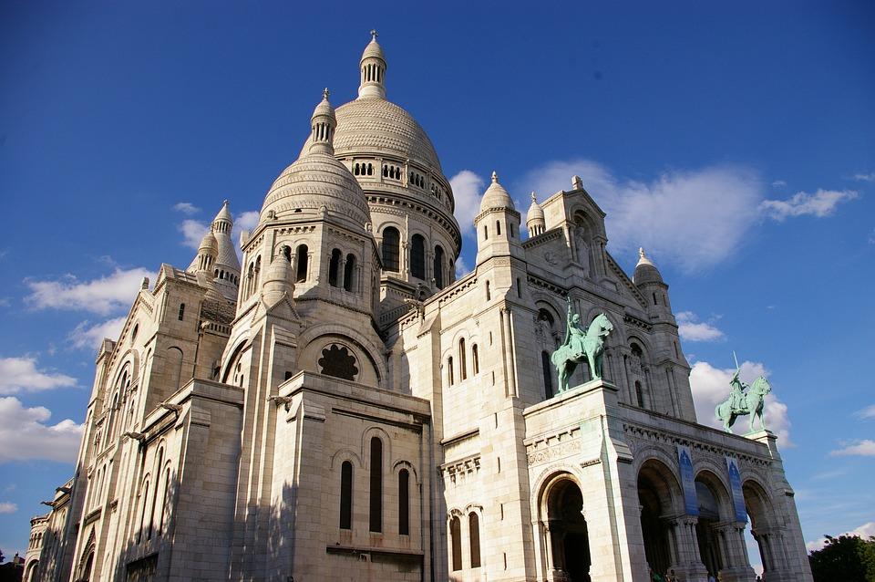 Free Photo Cathedral Montmartre Sacré Coeur France Paris