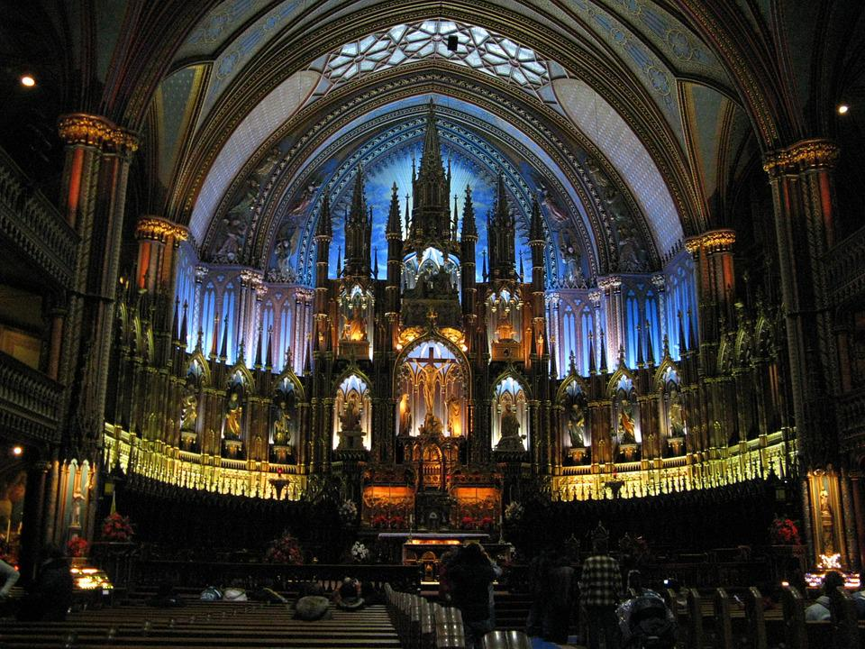 Church, Cathedral, Montreal, Religion, City, Famous