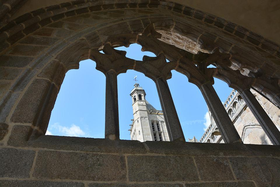 Cathedral Of Dol De Bretagne, Bell Tower Cathedral