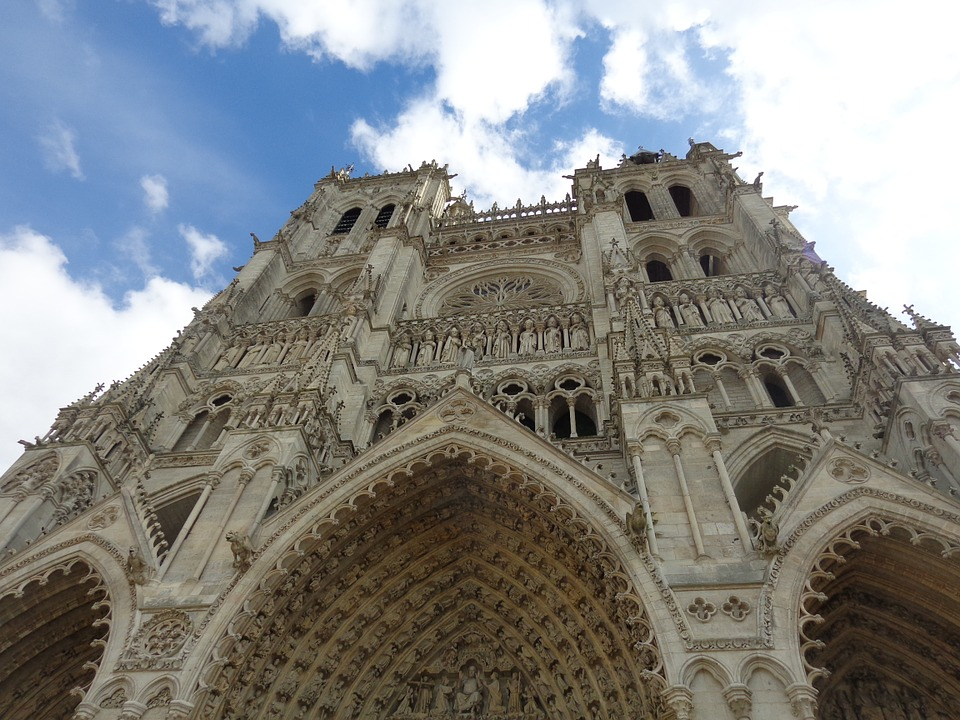 Cathedral, Religion, France, Building