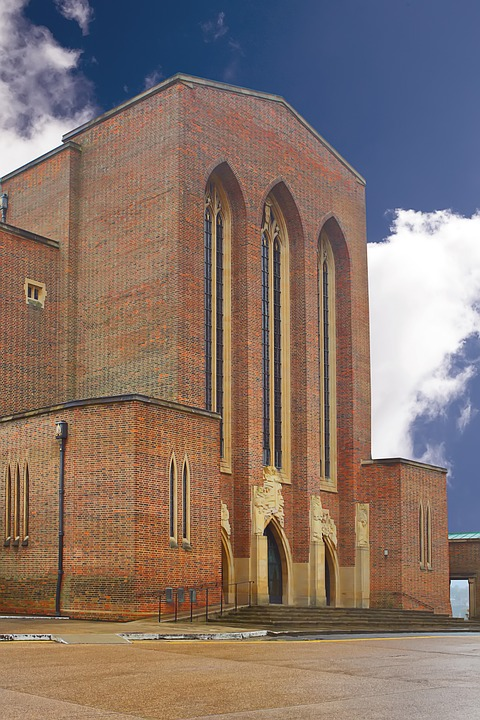Guildford, Cathedral, Surrey, Church, Religion