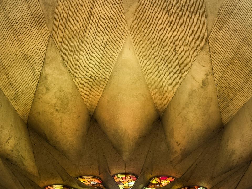 Cathedral, Sagrada Família, Barcelona, Catalonia