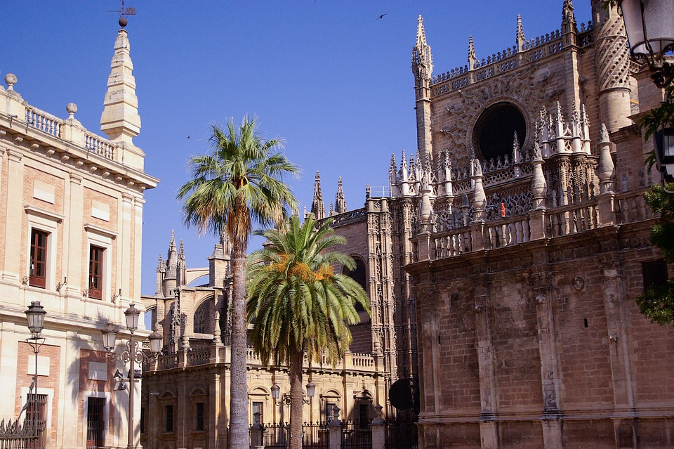 Spain, Andalusia, Seville, Cathedral, Gothic