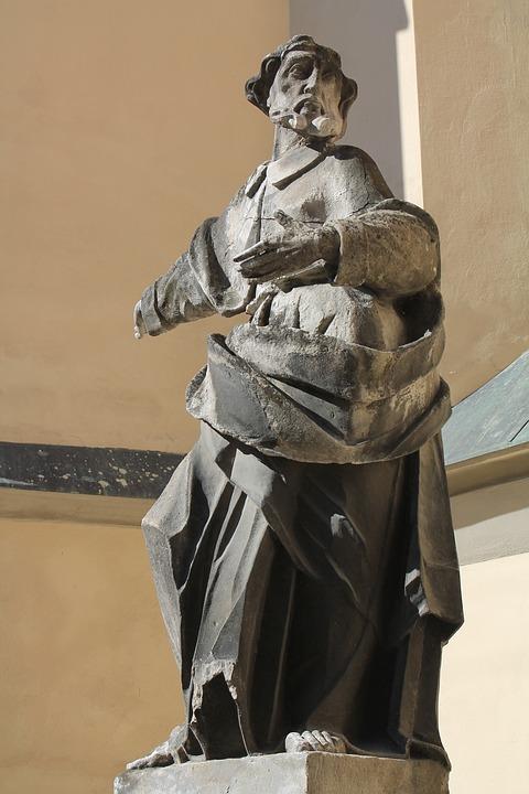 Sculpture, Statue, Art, Ukraine, Lviv, Cathedral Square