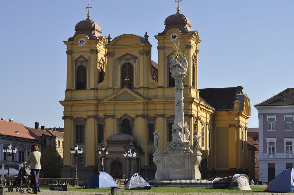 Timisoara, Cathedral Square, Dom