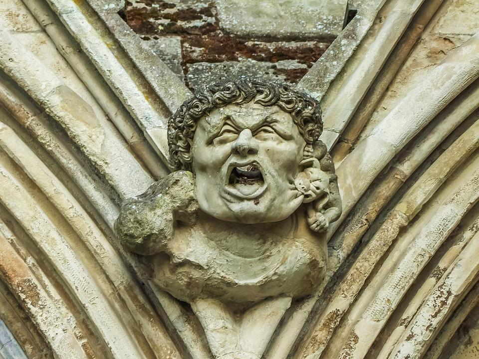 The Statue Of, Monument, Church, England, Cathedral