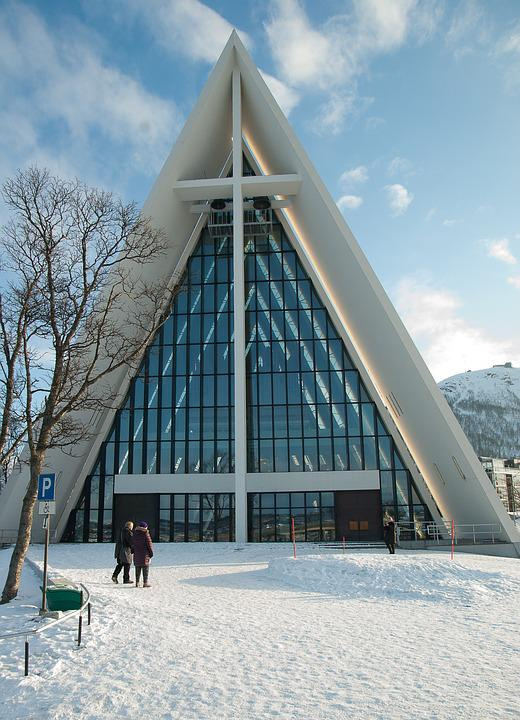Norway, Lapland, Tromso, Cathedral