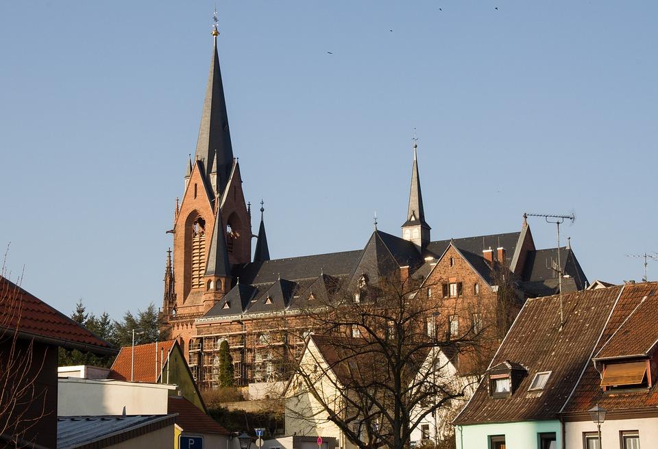 St Ingbert, Joseph Church, Catholic Church