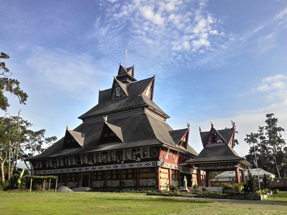 North Sumatra, Shrine, Catholic Church, Inculturated