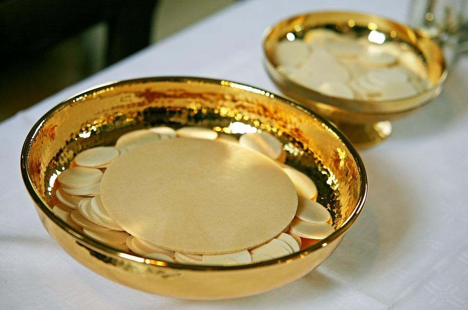 Communion, Communion Wafers, Cup, Catholic