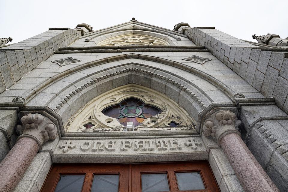 Church, Halifax, Canada, City, Catholic, Faith, Door