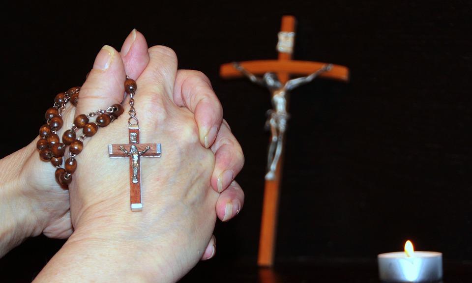 Pray, Rosary, Faith, Graceful, Prayer, Catholic, Cross