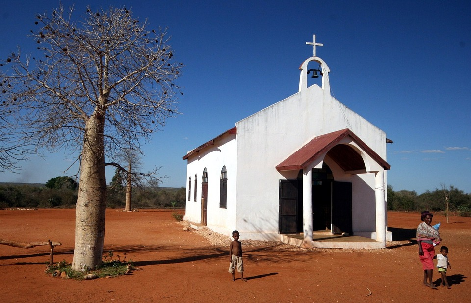 Madagascar, Religion, Locals, Catholic, Church