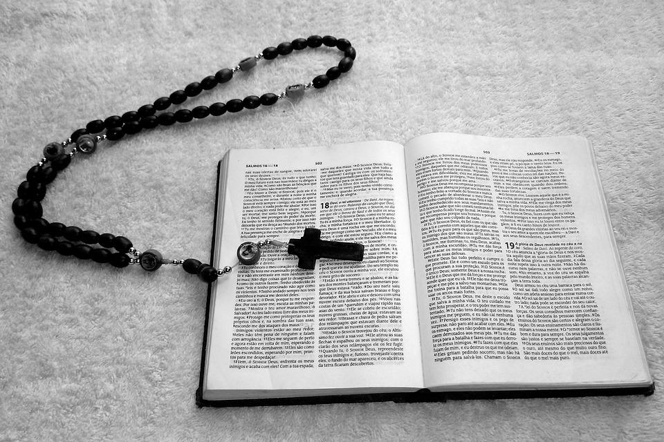 Book, Symbol, Page, Bible, Catholicism, God, Religion
